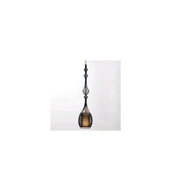 Lampadario a Sospensione Wire Emperor H. 132 cm Elite