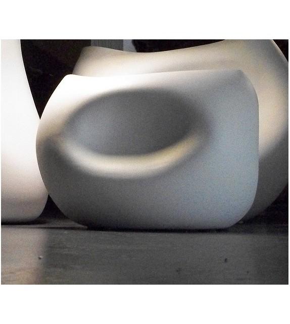 Vaso in Ceramica Easy Diam.28 H.21 cm Elite