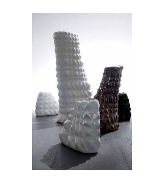 Vaso in Ceramica Sface L.38 P.16 H.57 cm Elite