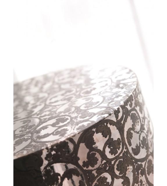 Base rotonda in ceramica Kaio diam.35 h.42 cm Elite