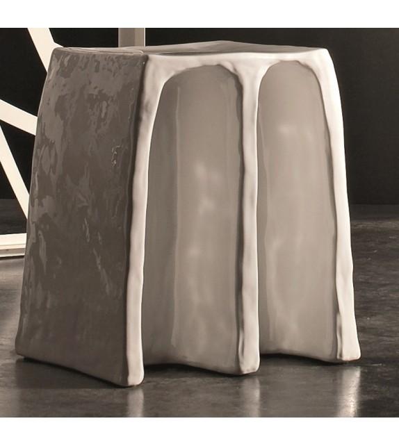 Sedia/comodino in ceramica 36x31x43 Suty Elite