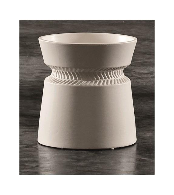 Vaso in Ceramica Dame H.27 Diam.12 cm Elite