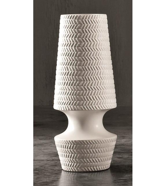 Vaso in Ceramica Dame H.56 Diam.16 cm Elite
