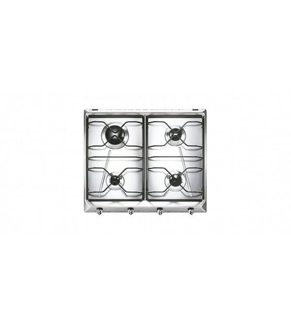 Smeg Piano cottura a gas SV564-3 finitura inox da 60cm