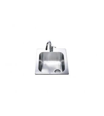 Smeg Lavello ad una vasca VS34/P3 finitura acciaio inox spazzolato da 42cm