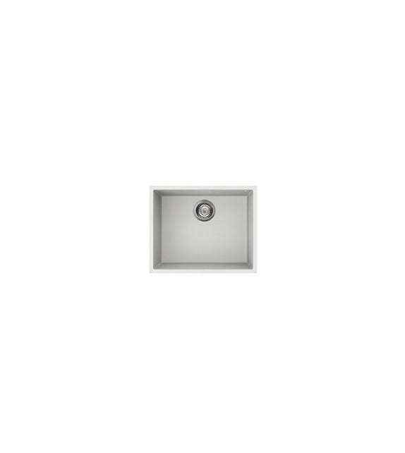 Smeg Lavello ad una vasca VZUM57B finitura bianco da 50cm