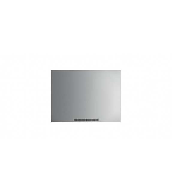 Smeg Schienale KIT1A2-6 finitura acciaio inox da 100cm