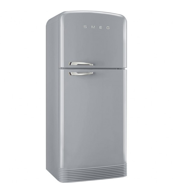 Smeg frigorifero a due porte fab50rsv finitura grigio for Frigoriferi a due porte