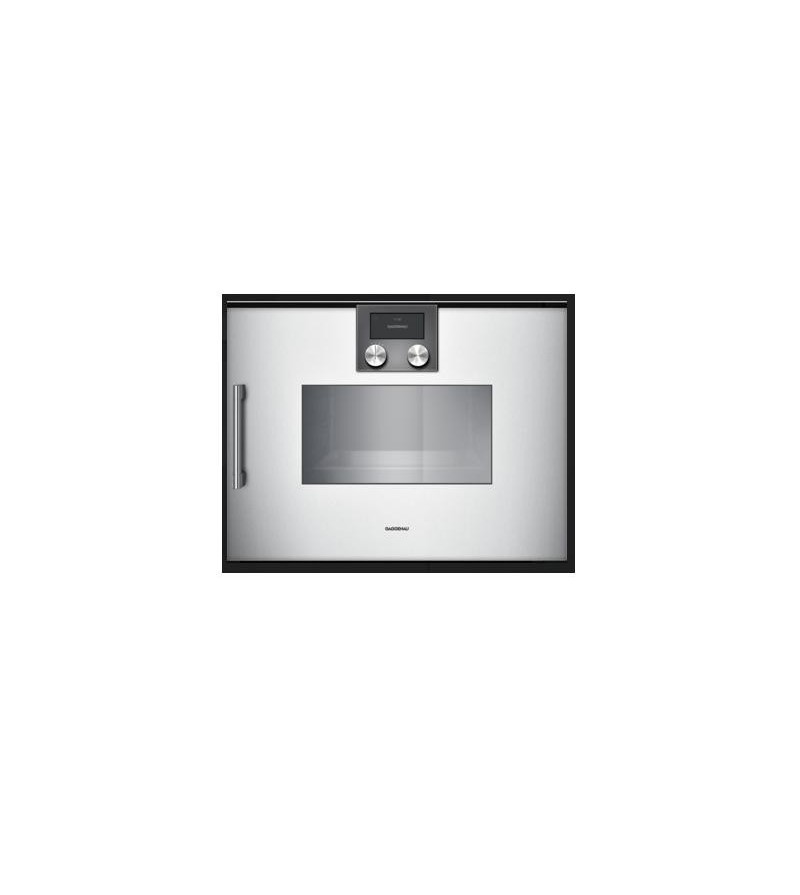 Gaggenau forno ad incasso combinato a microonde bmp 250 130 con cerniere a destra finitura - Forno incasso combinato ...