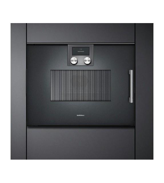 Gaggenau forno ad incasso combinato a microonde bmp 251 100 con cerniere a destra finitura - Forno incasso combinato ...