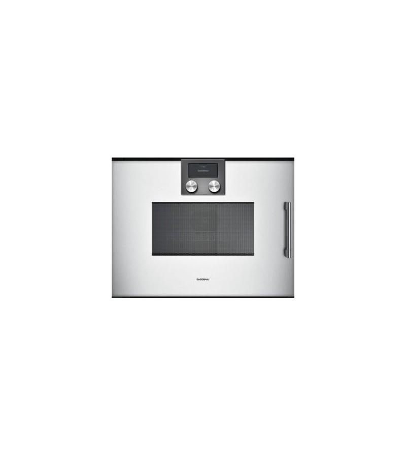 Gaggenau forno ad incasso combinato a microonde bmp 251 130 con cerniere a destra finitura - Forno incasso combinato ...