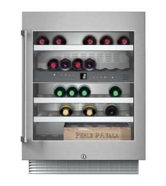 Gaggenau Cantinetta del Vino Sottotop ad Incasso RW 404 261 da 60cm IN Acciaio Inox