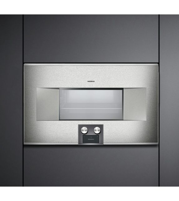 Gaggenau forno ad incasso combinato a microonde bm 485 110 - Forno a microonde ad incasso ...