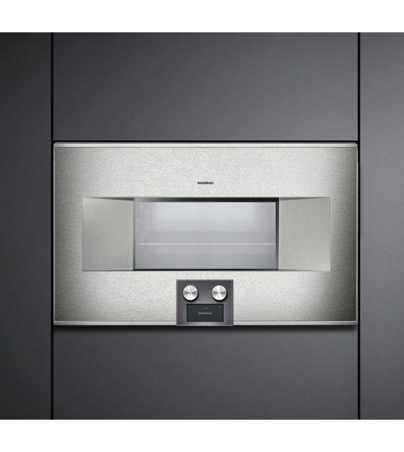 Gaggenau forno ad incasso combinato a microonde bm 485 110 - Mobile porta forno microonde ...