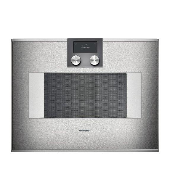 Gaggenau forno ad incasso combinato a microonde bm 450 100 - Mobile porta forno microonde ...