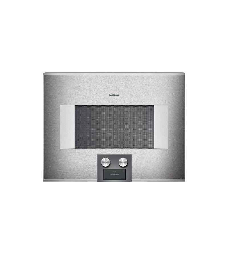 Gaggenau forno ad incasso combinato a microonde bm 454 110 - Forno a microonde ad incasso ...