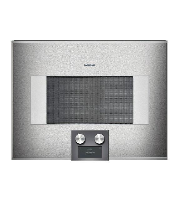 Gaggenau forno ad incasso combinato a microonde bm 454 100 - Mobile porta forno microonde ...