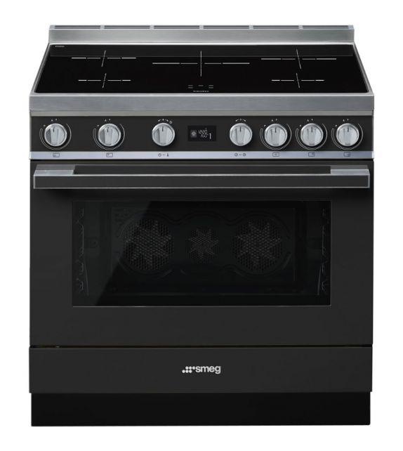 Smeg Cucina CPF9IPAN con piano cottura ad induzione finitura antracite da 90cm