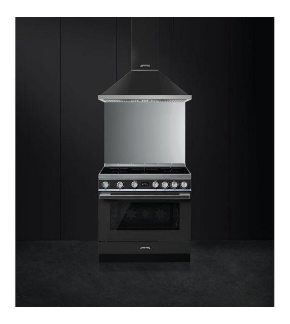 Smeg Cucina CPF9IPBL con piano cottura ad induzione finitura nero da 90cm