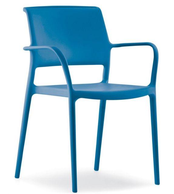 Pedrali sedia con braccioli Ara 315