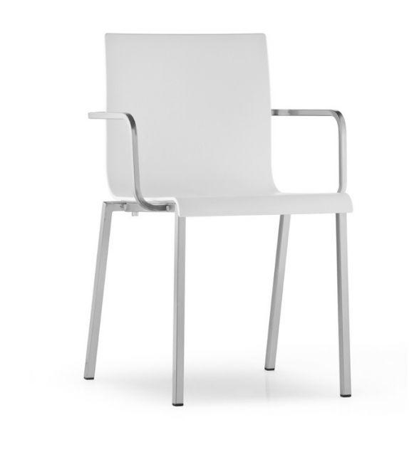 Pedrali sedia con braccioli Kuadra XL 2402