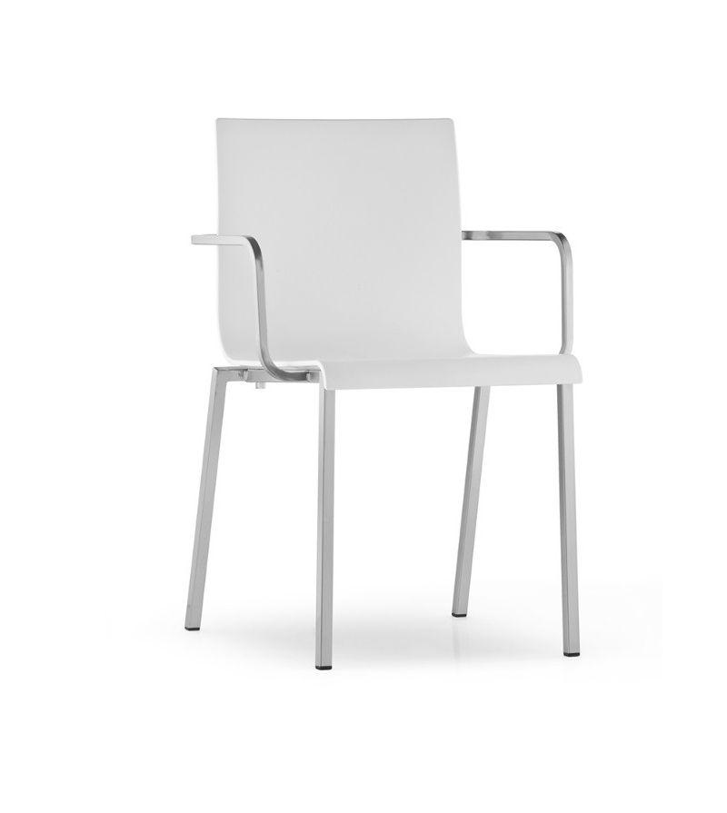Pedrali sedia con braccioli kuadra xl 2402 arredamento for Pedrali arredamento