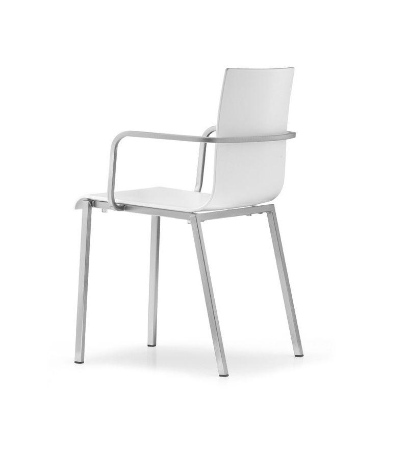 Pedrali sedia con braccioli kuadra xl 2402 contattaci for Miglior prezzo sedie