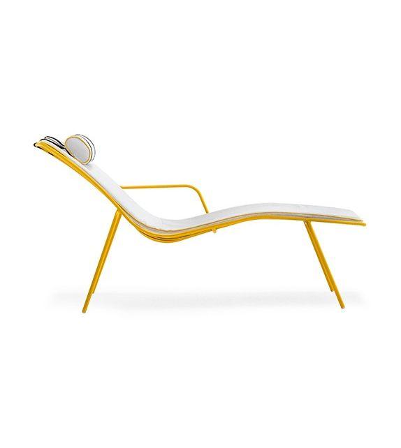 Pedrali chaise longue Nolita 3654