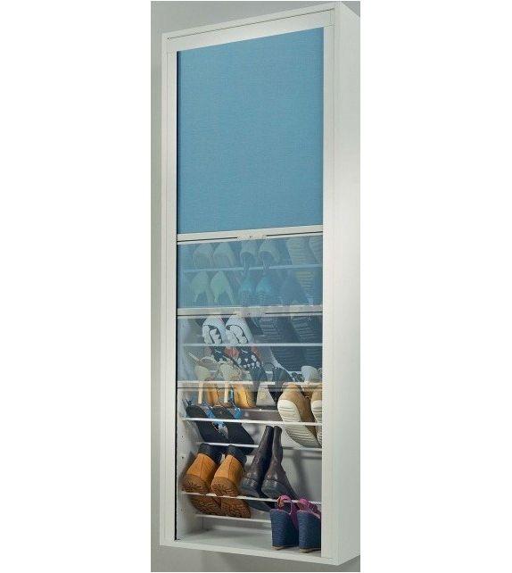 Maconi Scarpiera Roll 825 con struttura in legno da 17 paia serie Shoe Holder collection