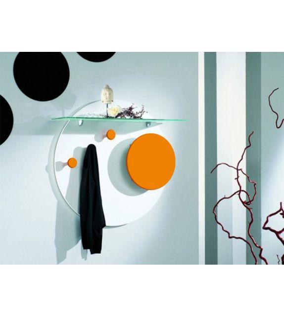 Composizione appendiabiti con specchiera Serie Moonlight M03 Maconi