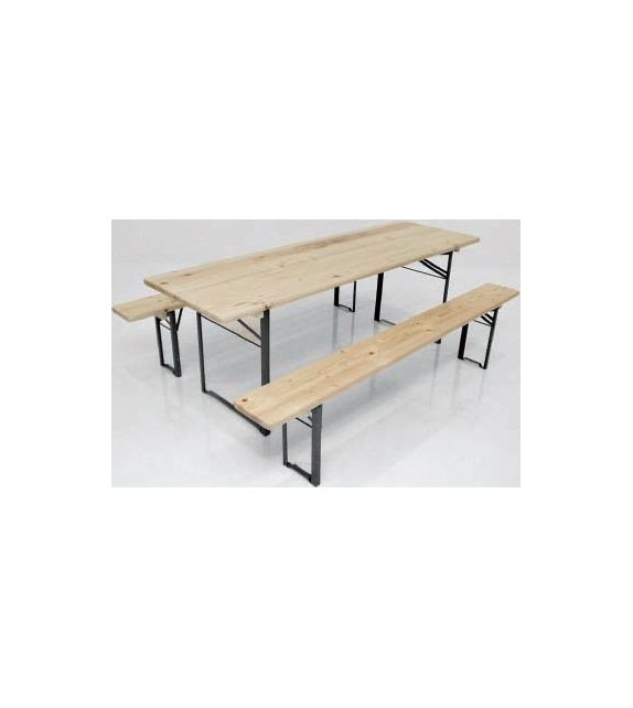Maconi Coppia tavolini Piramide 1069 con piano in legno serie Coffee Table collection
