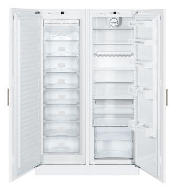 Liebherr frigorifero side by side integrabile SBS 70I2 da 56-57cm