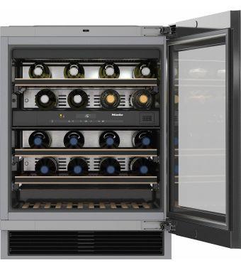 Miele Cantinetta vino sottotop KWT 6322 con sportello in vetro da 60cm