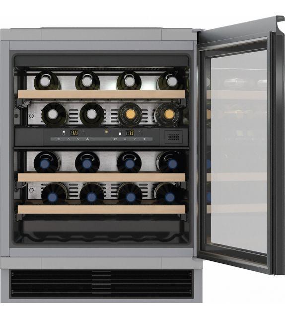 Miele Cantinetta vino sottotop KWT 6321 con sportello in vetro da 60cm