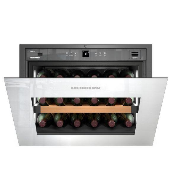 Liebherr cantina del vino temperata e climatizzata integrabile WKEgw 582 da 56cm