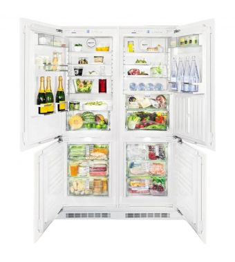 Liebherr frigorifero side by side integrabile SBS 66I3 da 56-57cm