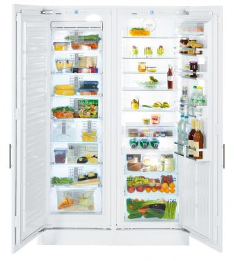 Liebherr frigorifero side by side integrabile SBS 70I4 da 56-57cm