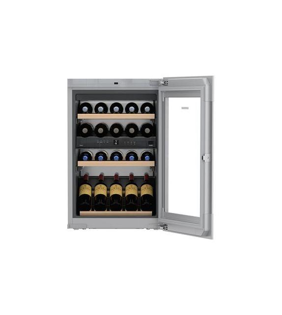 Liebherr Cantina vino sottopiano da incasso EWTgw 1683 con porta in vetro bianco da 56 cm
