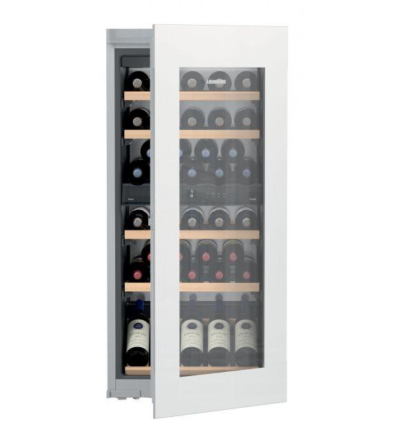 Liebherr Cantina vino da incasso EWTgw 2383 con porta in vetro bianco da 56 cm