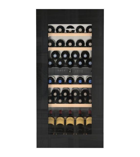 Liebherr Cantina vino da incasso EWTgb 2383 con porta in vetro nero da 56 cm
