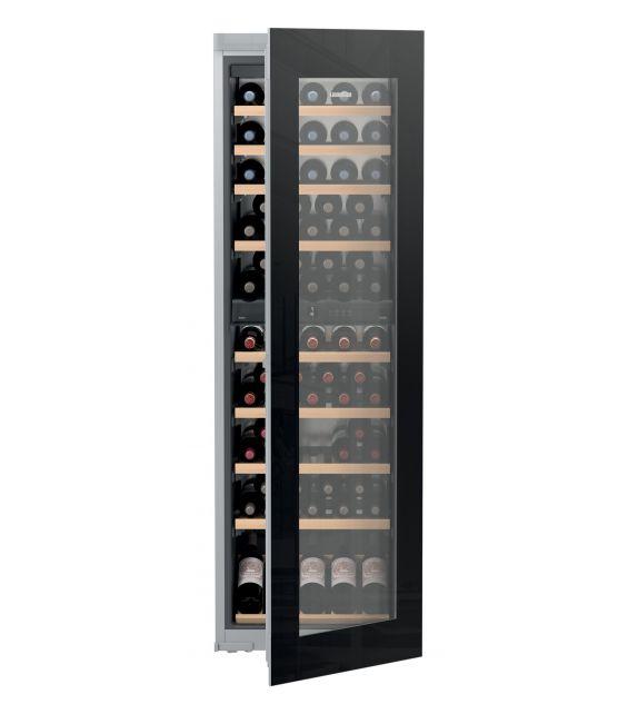 Liebherr Cantina vino da incasso EWTgb 3583 con porta in vetro nero da 56 cm