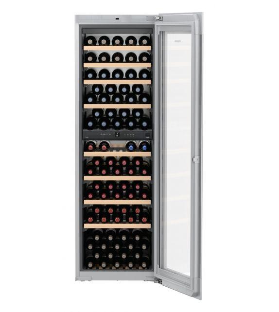 Liebherr Cantina vino da incasso EWTgw 3583 con porta in vetro bianco da 56 cm
