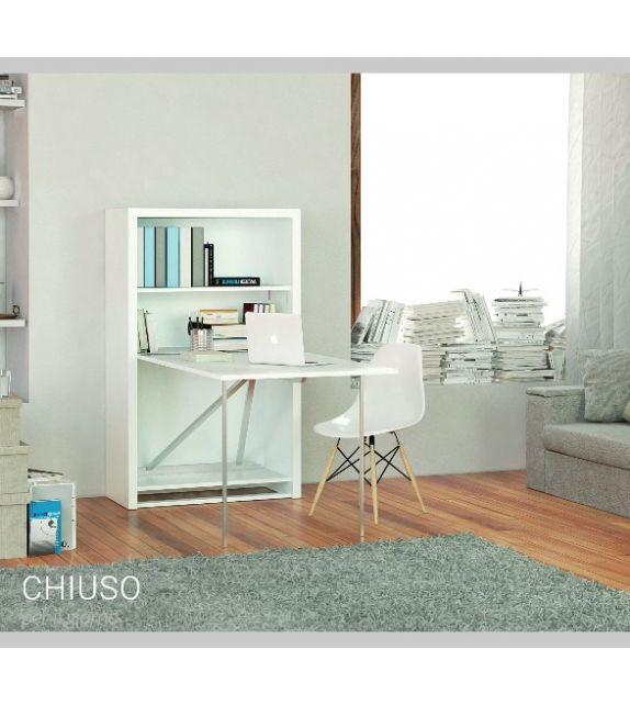 Smartbeds Mobile Office con piano scrittoio da 88,5 cm