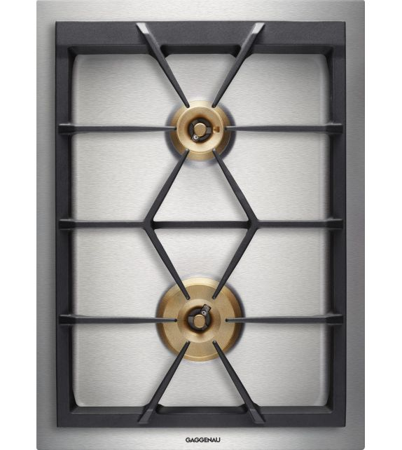 Gaggenau Piano cottura a gas VG 425 211 finitura acciaio inox da 38cm