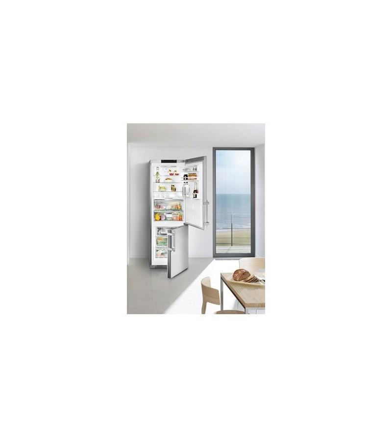 liebherr frigorifero combinato cbnpes 5758 finitura acciaio da 70cm frigoriferi frigoriferi. Black Bedroom Furniture Sets. Home Design Ideas