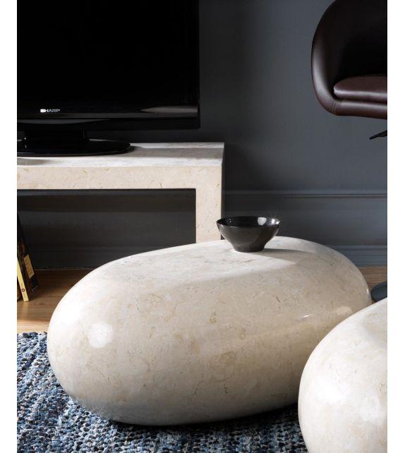Stones Tavolino Sasso Small FS/001/WA White Agata