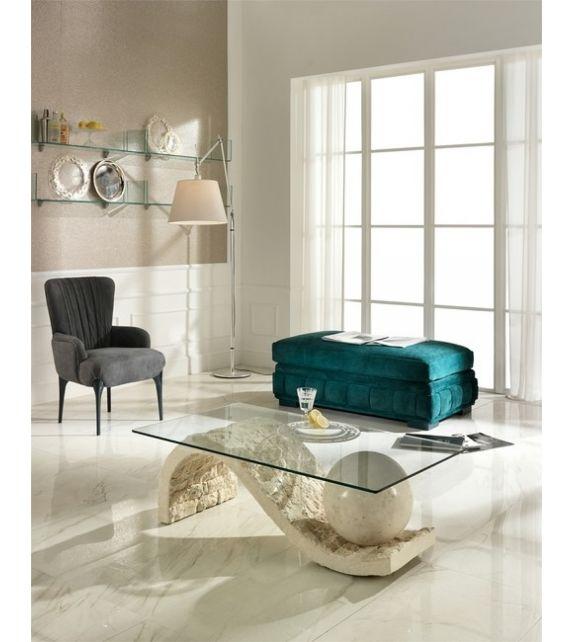 Stones Tavolino Onda FS/130/WA/A White Agata
