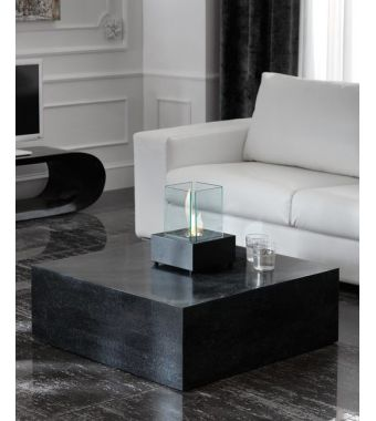 Stones Tavolino quadrato Base 1 FS/007/BS Black Stone