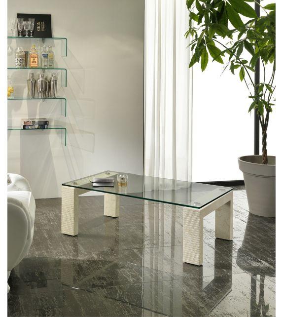 Stones Tavolino Millerighe FS/017/WA/A White Agata