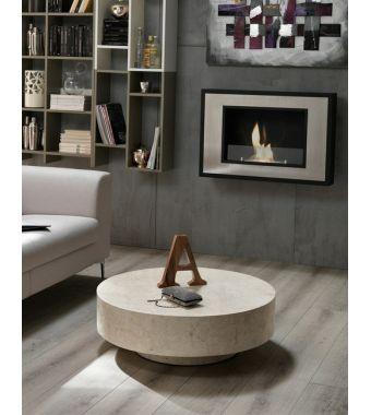 Stones Tavolino Round 1 FS/137/WA White Agata